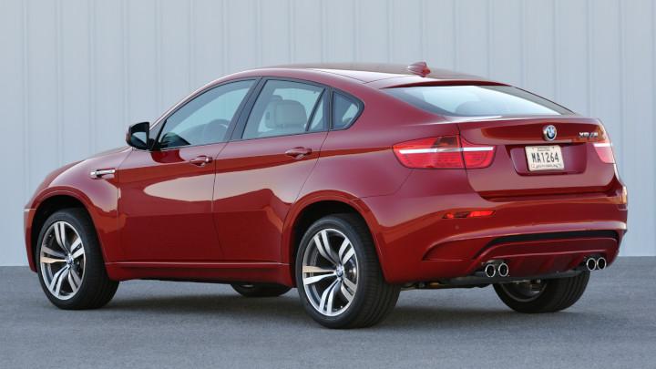 BMW X6 M E71 Rear