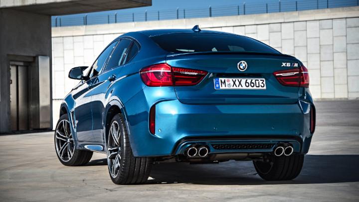 BMW X6 M F86 Rear
