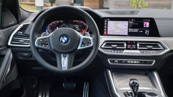 BMW X6 Interior