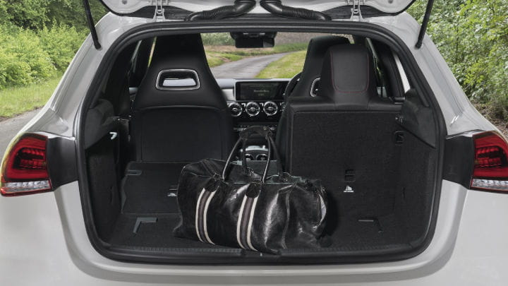 Used Mercedes-Benz A-Class Boot Space