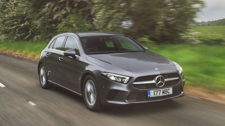 Used Mercedes-Benz A-Class Driving