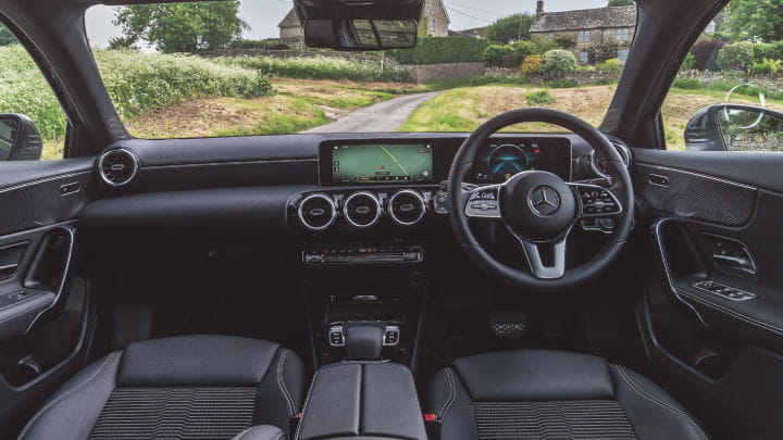 Used Mercedes-Benz A-Class Interior