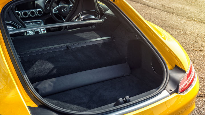 Used Mercedes-Benz AMG GT Coupe Boot Space