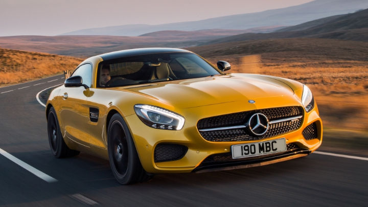 Used Mercedes-Benz AMG GT Coupe Exterior
