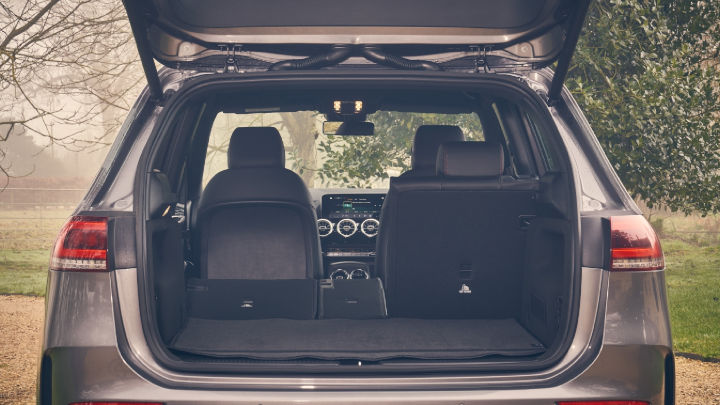 Used Mercedes-Benz B-Class Boot Space