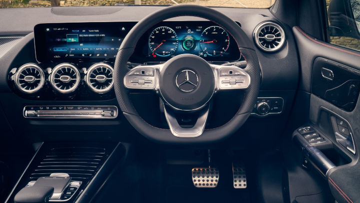 Used Mercedes-Benz B-Class Interior