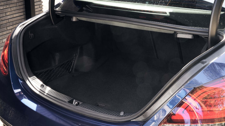 Used Mercedes-Benz C-Class Saloon Boot Space