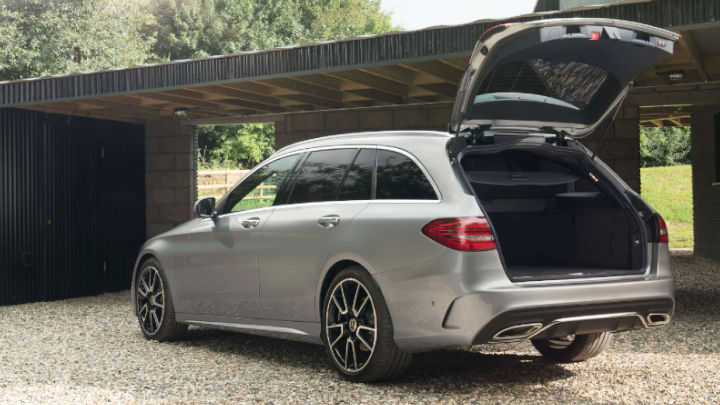 Used Mercedes-Benz C-Class Estate Boot Open