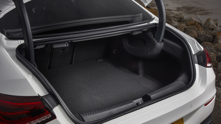 Used Mercedes-Benz CLA Boot Space