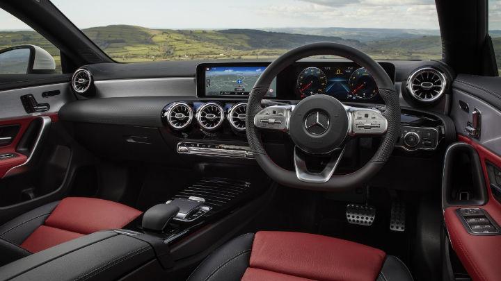 Used Mercedes-Benz CLA Interior