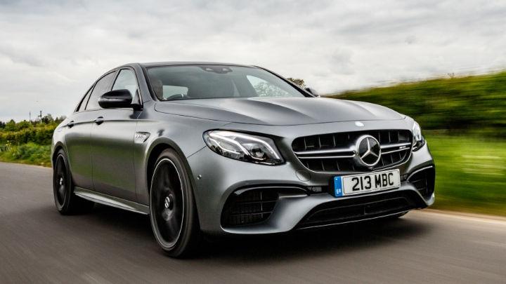 Mercedes-Benz AMG E-Class Exterior Driving