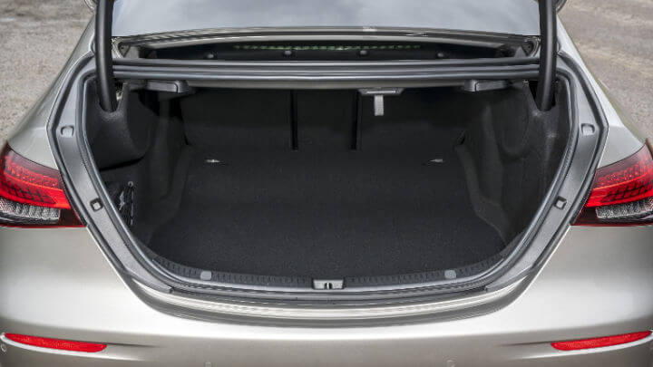 Used Mercedes-Benz E-Class Saloon Boot Space