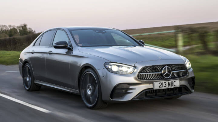 Used Mercedes-Benz E-Class Saloon Exterior, Driving