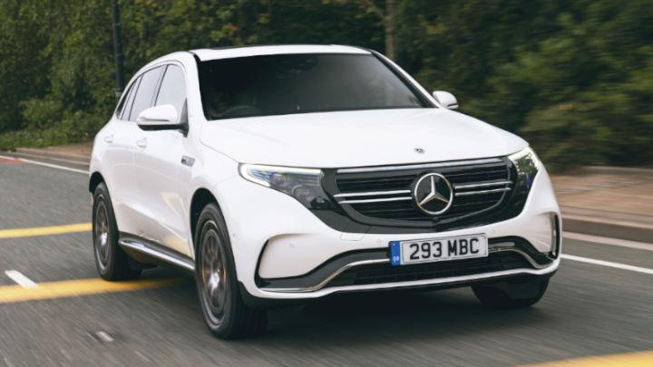 Used Mercedes-Benz EQC Exterior, Driving