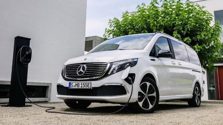 Used Mercedes-Benz EQV Exterior, Charging