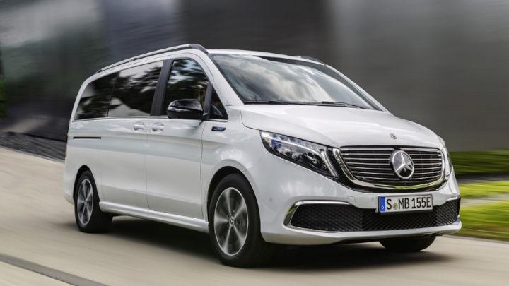 Used Mercedes-Benz EQV, Exterior, Driving