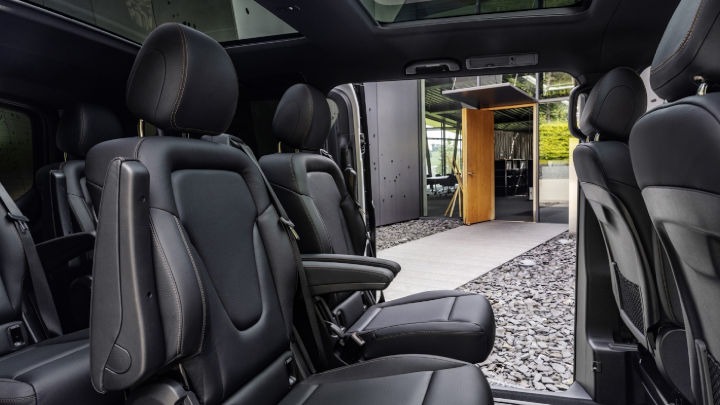 Used Mercedes-Benz EQV Interior, Rear Seats