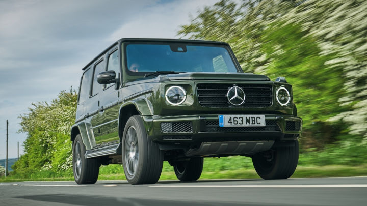 Used Mercedes-Benz G-Class, Exterior, Driving