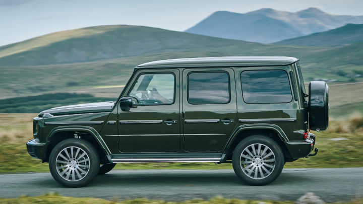 Used Mercedes-Benz G-Class Exterior, Driving, Side