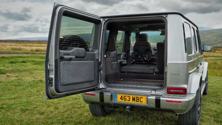 Used Mercedes-Benz G-Class, Interior, Boot Space