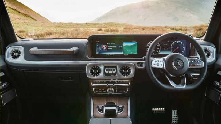 Used Mercedes-Benz G-Class, Interior, Dashboard