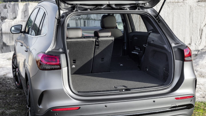 Used Mercedes-Benz GLA Boot Space
