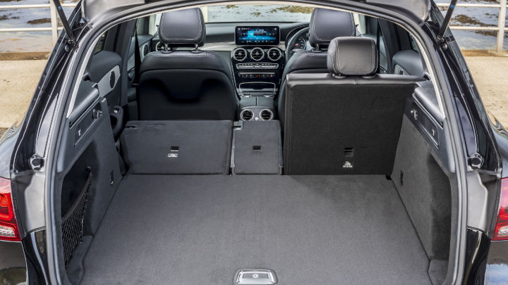 Used Mercedes-Benz GLC Boot Space