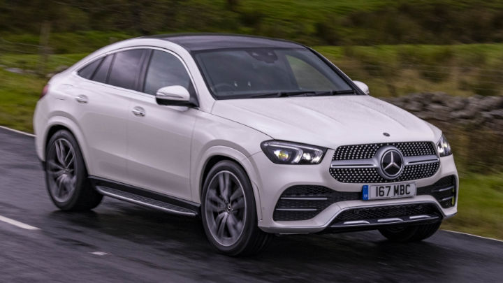 Used Mercedes-Benz GLE Coupe Exterior, Driving