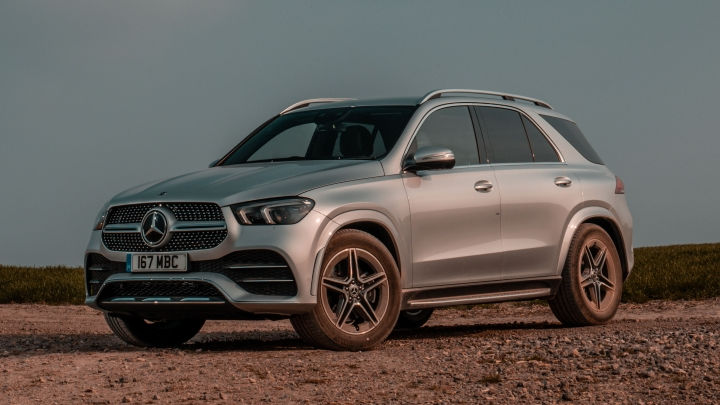 Used Mercedes-Benz GLE SUV Exterior, Front