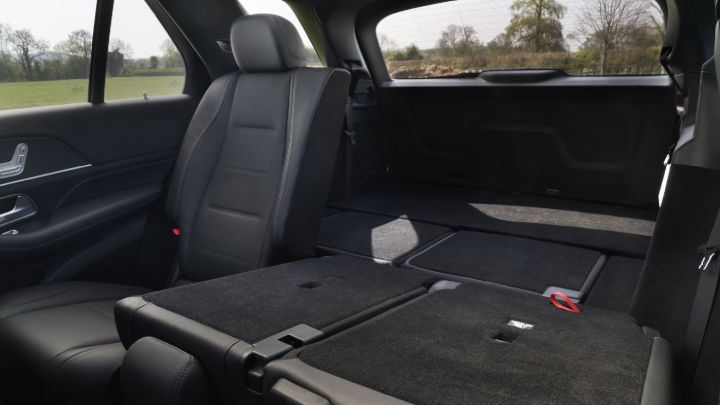 Used Mercedes-Benz GLE SUV Boot Space