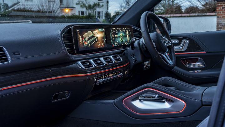 Used Mercedes-Benz GLS Interior, Dashboard