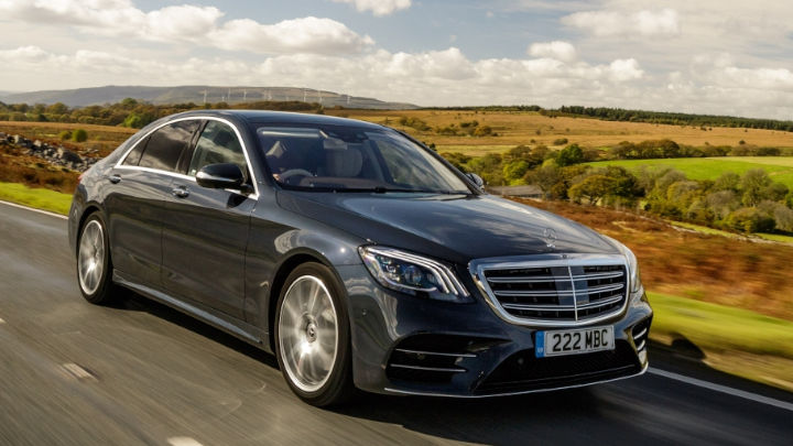 Used Mercedes-Benz S-Class Saloon Exterior, Driving