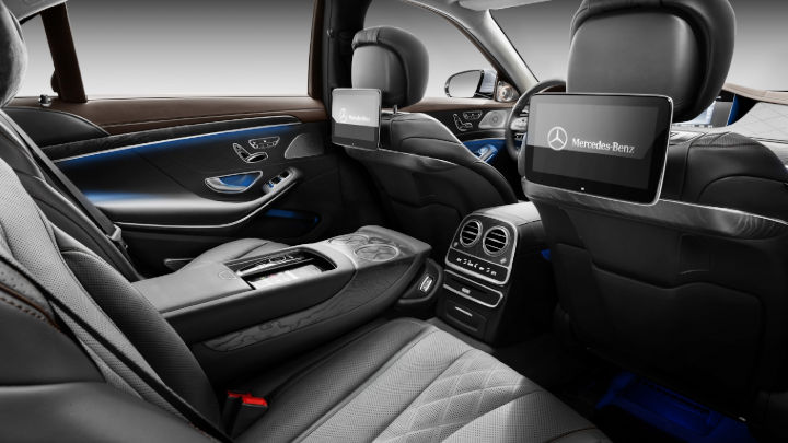 Used Mercedes-Benz S-Class Saloon, Interior, Back Seats
