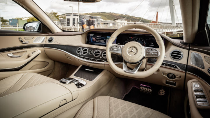 Used Mercedes-Benz S-Class Saloon Interior Dashboard