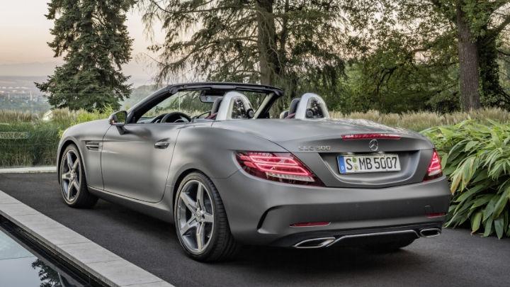 Mercedes-Benz SLC Exterior, Driving, Rear
