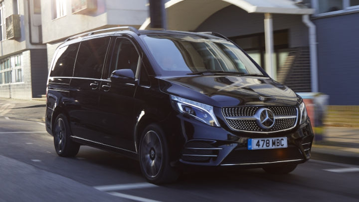 Used Mercedes-Benz V-Class Driving