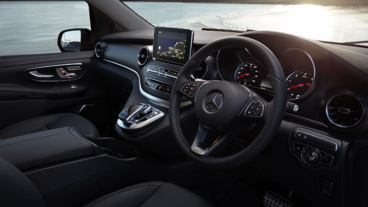 Used Mercedes-Benz V-Class Interior, Dashboard