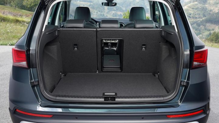 Grey SEAT Ateca Boot