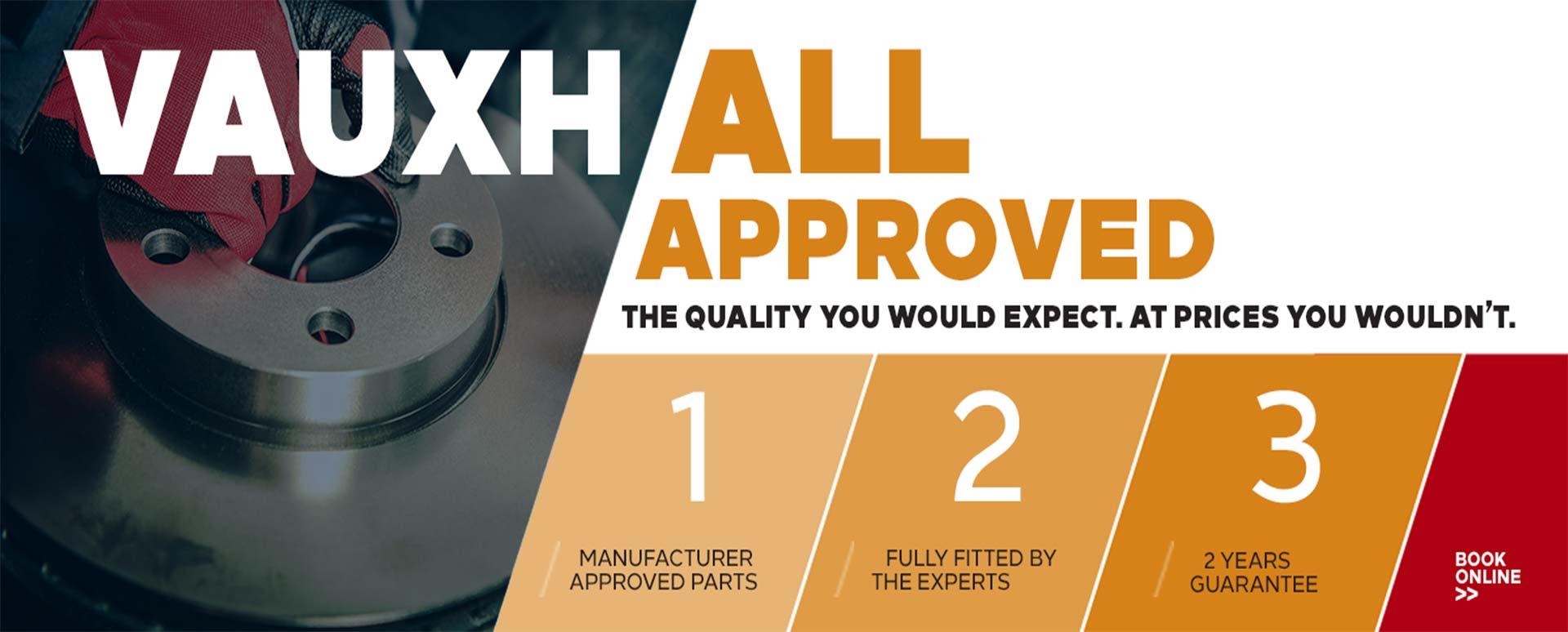 Vauxhall fixed price repairs carousel