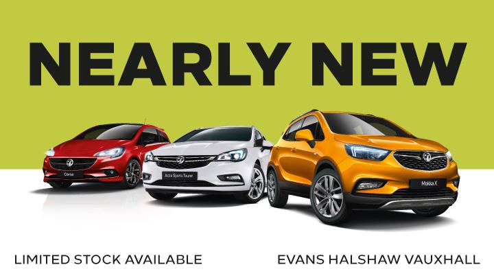 Nearly New Vauxhalls