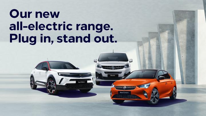 Vauxhall Electric Vehicle Range