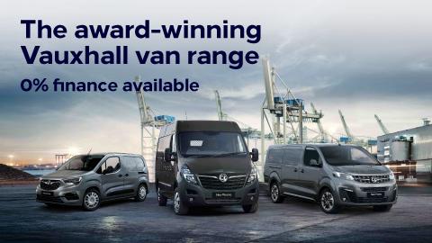 Vauxhall Vans - 0% APR Finance