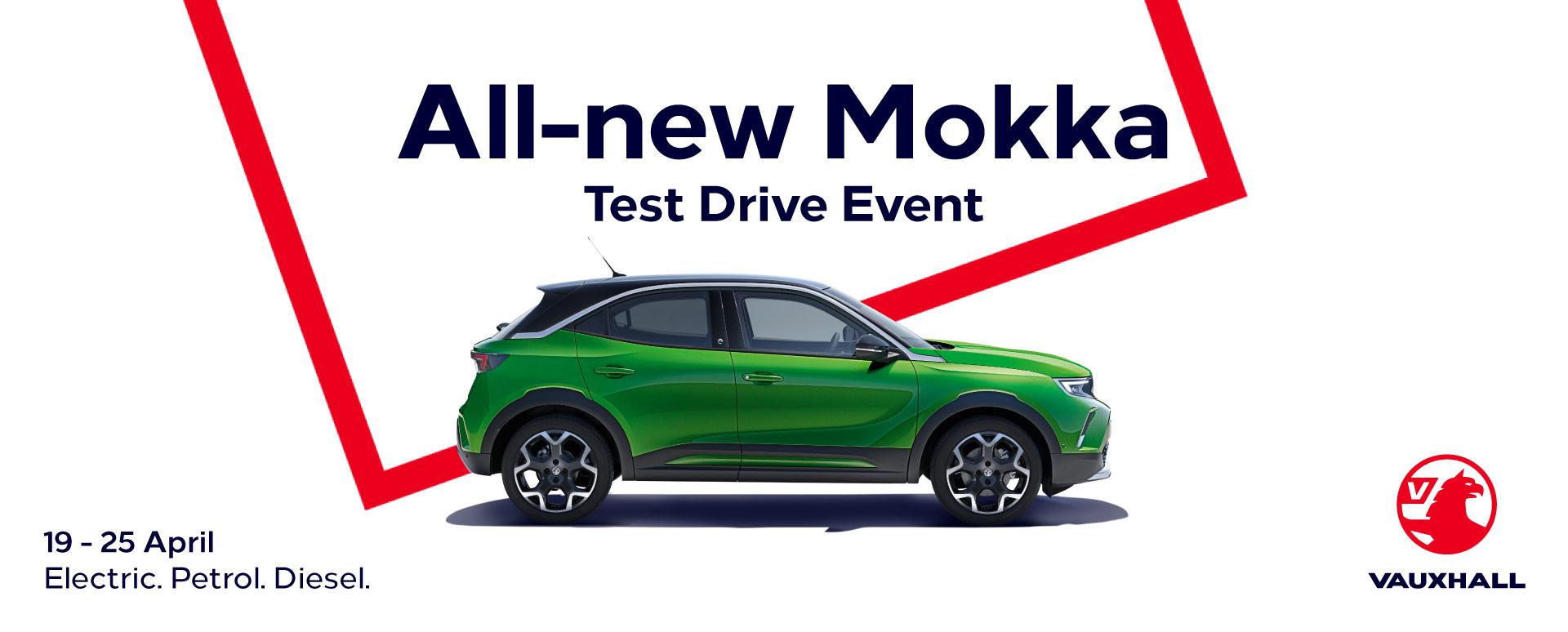 All-New Mokka Test Drive Event