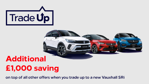 Vauxhall Trade It Up Offer