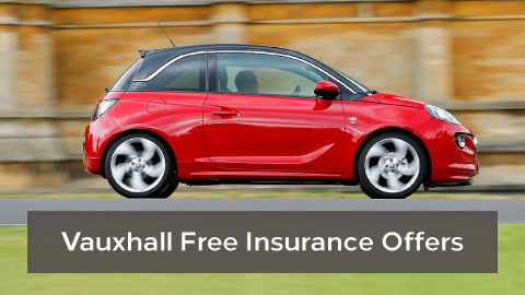Vauxhall free insurance offers