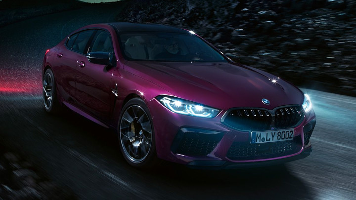 BMW M8 Competition Gran Coupe, Driving