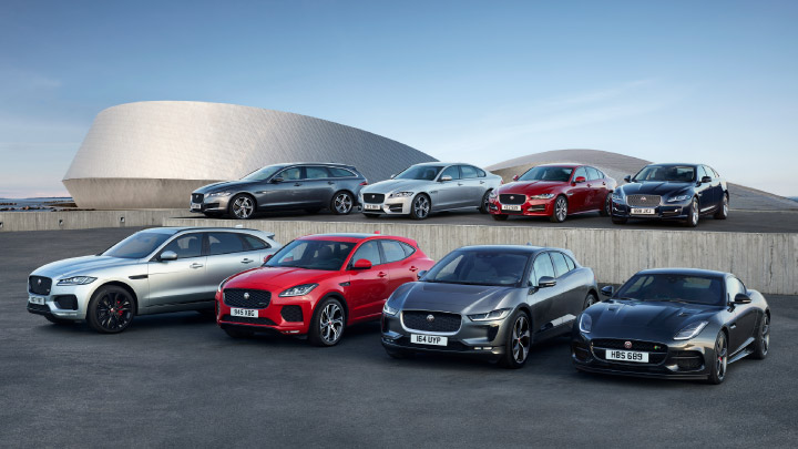 Jaguar New Car Range.