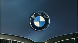 BMW bonnet badge