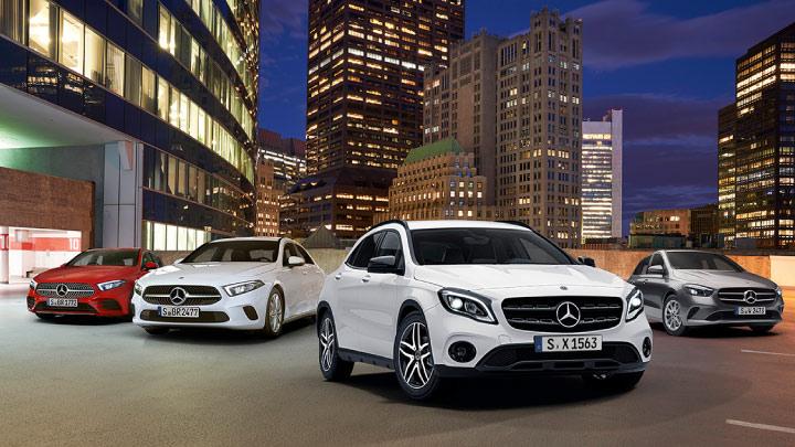 Mercedes-Benz Motability range